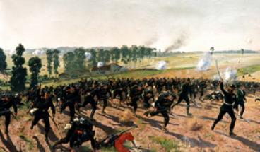 La bataille de Saint-Privat